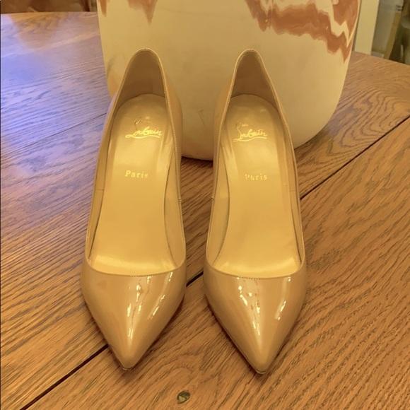 Christian Louboutin Pigalle 85 Patent Calf Heel